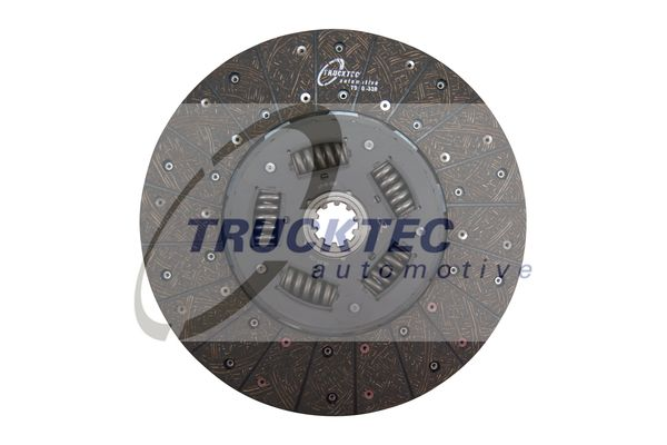 TRUCKTEC AUTOMOTIVE Kupplungsscheibe für MAN - Artikelnummer: 05.23.126