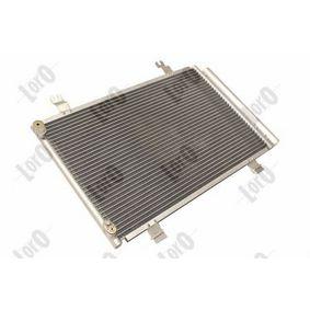 aire acondicionado original Van Wezel 52005087 Condensador