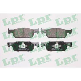 5SP1963 LPR Höhe: 49mm, Breite: 155,1mm, Dicke/Stärke: 17mm Bremsbelagsatz, Scheibenbremse 05P1963 günstig kaufen