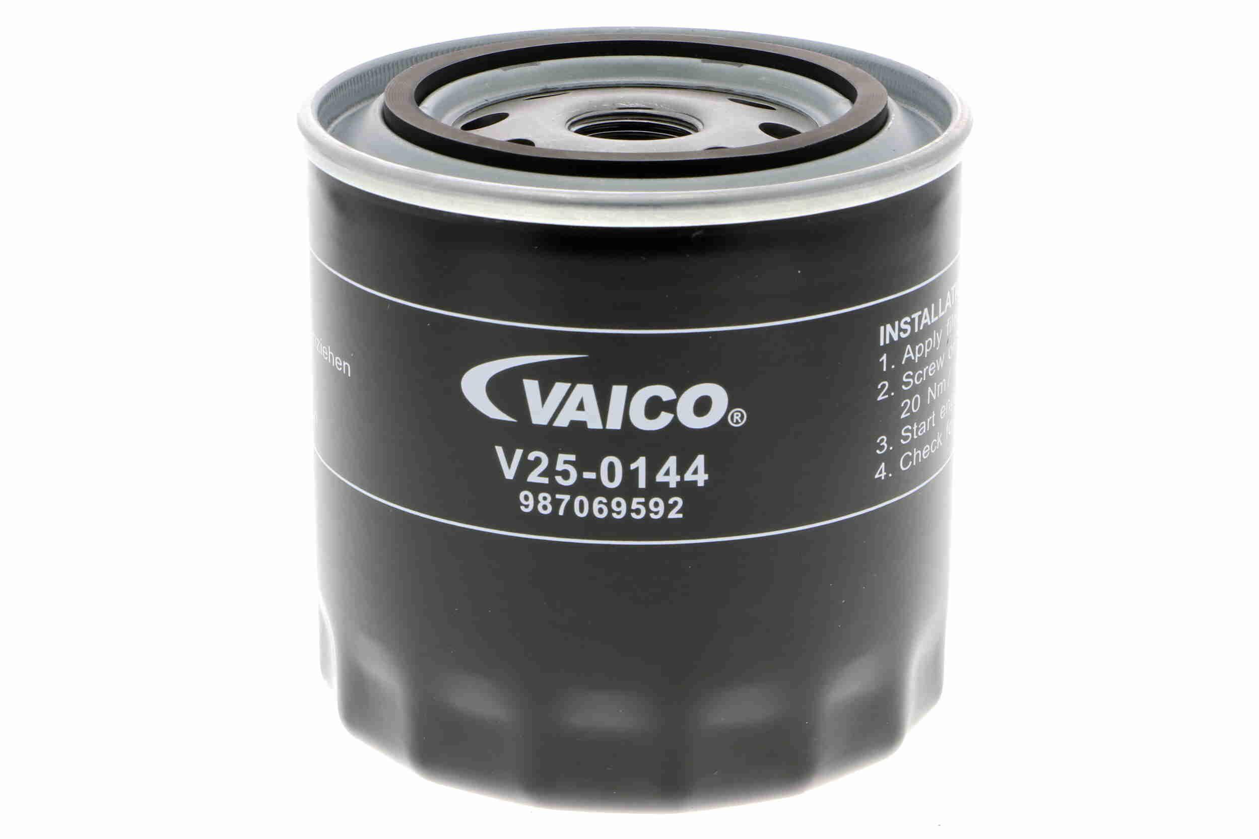 Original SAAB Ölfilter V25-0144