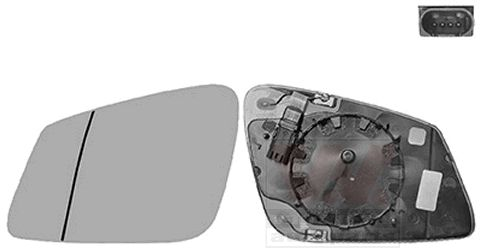 Original BMW Außenspiegelglas 0617867U