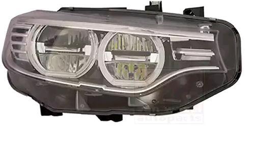 BMW 4er 2016 Hauptscheinwerfer - Original VAN WEZEL 0624962M Links-/Rechtsverkehr: für Rechtsverkehr, Fahrzeugausstattung: für Fahrzeuge mit Leuchtweiteregelung (automatisch)