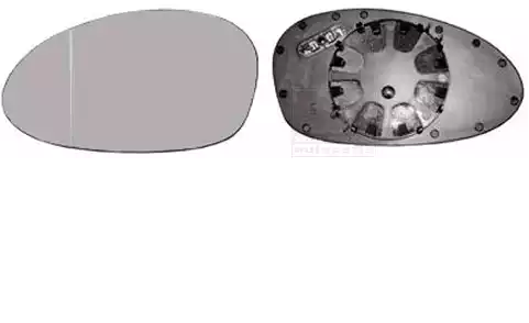 Original BMW Spiegelglas 0657835