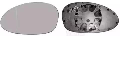 Original BMW Spiegelglas Außenspiegel 0657835