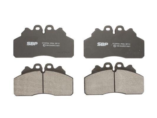 Bremssteine SBP 07-P29256