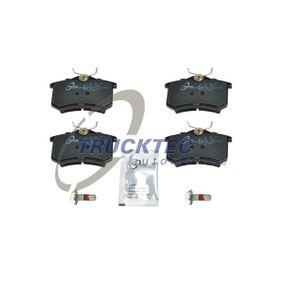 07.35.105 TRUCKTEC AUTOMOTIVE Hinterachse Bremsbelagsatz, Scheibenbremse 07.35.105 günstig kaufen