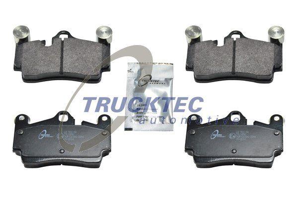 07.35.111 TRUCKTEC AUTOMOTIVE Hinterachse, für Verschleißwarnanzeiger vorbereitet Bremsbelagsatz, Scheibenbremse 07.35.111 günstig kaufen