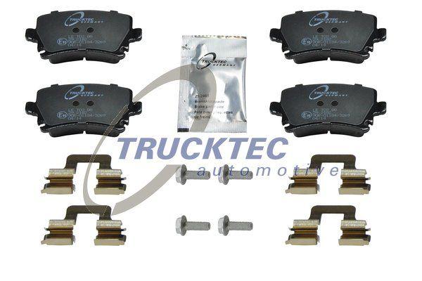 Brake pad set 07.35.138 TRUCKTEC AUTOMOTIVE — only new parts