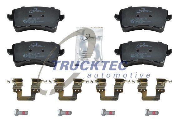 Brake pad set disc brake 07.35.191 TRUCKTEC AUTOMOTIVE — only new parts