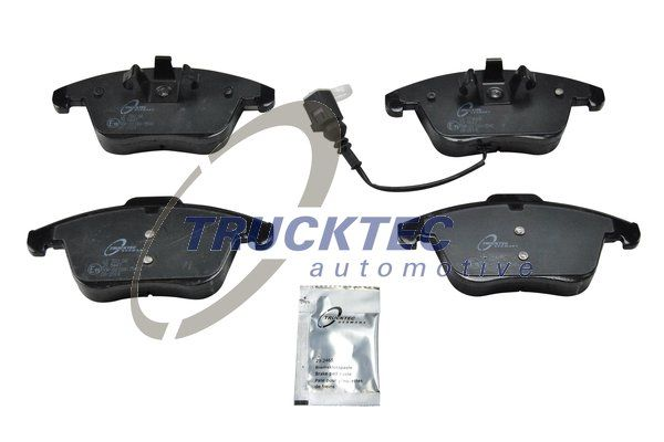 Disk brake pads 07.35.235 TRUCKTEC AUTOMOTIVE — only new parts