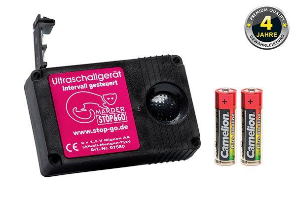 07580 STOP&GO Batterie Ultraschallgerät Marderschutz 07580 günstig kaufen