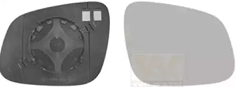 CHEVROLET TRAX 2015 Rückspiegelglas - Original VAN WEZEL 0808836