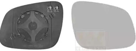 CHEVROLET SPARK 2020 Spiegelglas Außenspiegel - Original VAN WEZEL 0808838