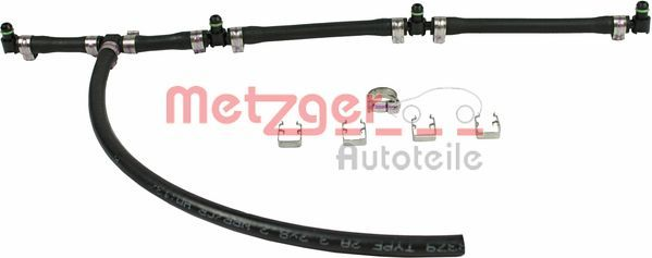METZGER: Original Kraftstoffverteiler 0840023 ()