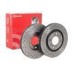 Discos de freio 09.4987.2X BREMBO — apenas peças novas