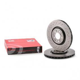 Comprare 09.9365.2X BREMBO XTRA LINE perforato / autoventilato, rivestito, ad alto tenore di carbonio Ø: 330mm, N° fori: 5, Spessore disco freno: 28mm Disco freno 09.9365.2X poco costoso