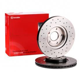 09.9468.1X BREMBO BREMBO XTRA LINE Perforated / Vented, Coated Ø: 300mm, Num. of holes: 5, Brake Disc Thickness: 25mm Brake Disc 09.9468.1X cheap