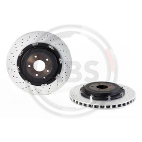 09.A190.13 A.B.S. BREMBO TWO-PIECE FLOATING DISCS LINE Vented, Coated Ø: 380mm, Rim: 5-Hole, Brake Disc Thickness: 30mm Brake Disc 09.A190.13 cheap