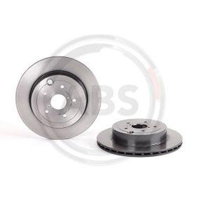 09.A198.11 A.B.S. Vented, Coated Ø: 316mm, Rim: 5-Hole, Brake Disc Thickness: 20mm Brake Disc 09.A198.11 cheap
