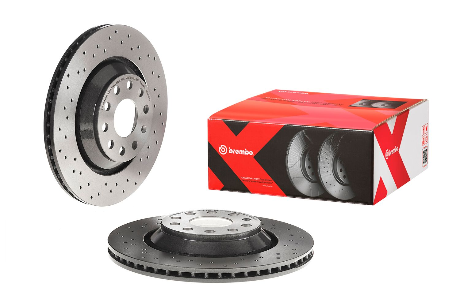 Brake Disc 09.A200.1X from BREMBO