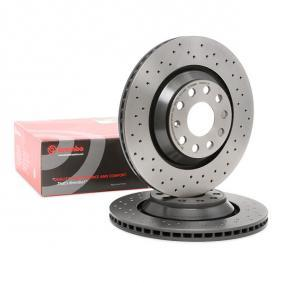 09.A200.1X BREMBO XTRA LINE Perforated / Vented, Coated, High-carbon, with screws Ø: 310mm, Num. of holes: 5, Brake Disc Thickness: 22mm Brake Disc 09.A200.1X cheap