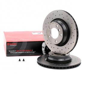 09.A259.1X BREMBO BREMBO XTRA LINE Perforated / Vented, Coated, High-carbon, with screws Ø: 330mm, Num. of holes: 5, Brake Disc Thickness: 24mm Brake Disc 09.A259.1X cheap