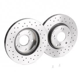 09.A455.1X Brake Disc BREMBO - Cheap brand products