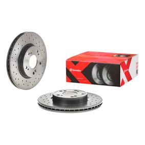 09.A455.1X Brake Disc BREMBO original quality