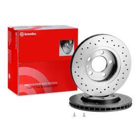 Brembo 09.A721.1X Rotori Disco Freno