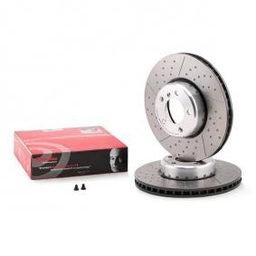 09.C398.13 BREMBO TWO-PIECE DISCS LINE Internally Vented, Slotted / Perforated, Two-piece Brake Disc, Coated, High-carbon, with screws Ø: 340mm, Num. of holes: 5, Brake Disc Thickness: 30mm Brake Disc 09.C398.13 cheap