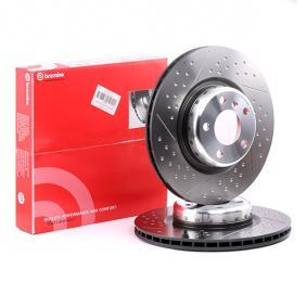 09.C400.13 BREMBO TWO-PIECE DISCS LINE Internally Vented, Slotted / Perforated, Two-piece Brake Disc, Coated, High-carbon, with screws Ø: 345mm, Num. of holes: 5, Brake Disc Thickness: 24mm Brake Disc 09.C400.13 cheap