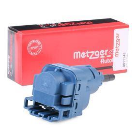0911146 METZGER Schalter, Kupplungsbetätigung (GRA) 0911146 günstig kaufen