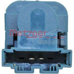 0911146 Schalter, Kupplungsbetätigung (GRA) METZGER in Original Qualität