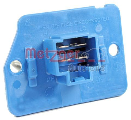 Resistor, interior blower METZGER 0917215 Reviews