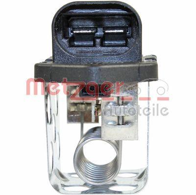 0917230 Vorwiderstand, Elektromotor-Kühlerlüfter METZGER - Markenprodukte billig
