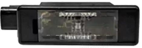 OE Original Kennzeichenbeleuchtung 0929920 VAN WEZEL