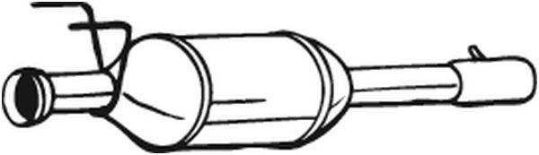 Rußfilter BOSAL 097-240
