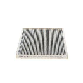Купете BOSCH филтър с активен въглен ширина: 268мм, височина: 22мм, дължина: 222мм Филтър, въздух за вътрешно пространство 1 987 432 537 евтино