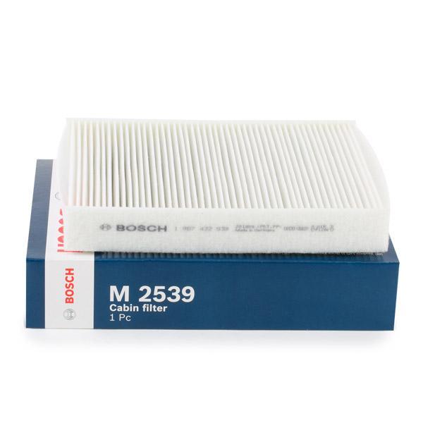 FORD MONDEO 2015 Pollenfilter - Original BOSCH 1 987 432 539 Breite: 210mm, Höhe: 35mm, Länge: 245mm