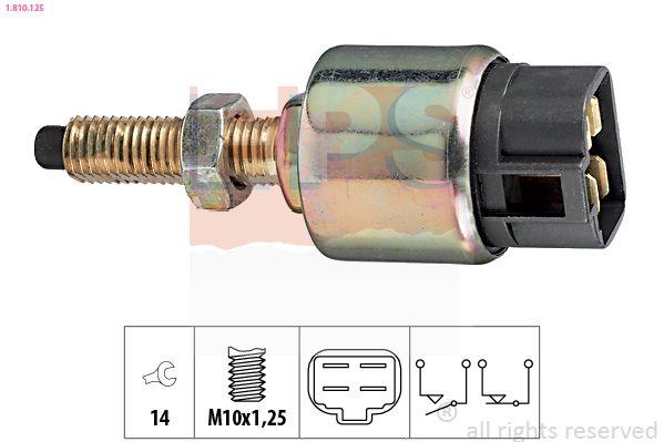 KW510125 EPS Made in Italy - OE Equivalent Bremslichtschalter 1.810.125 günstig kaufen