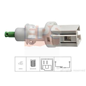 Temperature switch, radiator fan for DAIHATSU Move (L9) cheap order