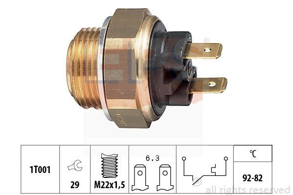 EPS: Original Thermoschalter Lüfter 1.850.016 ()