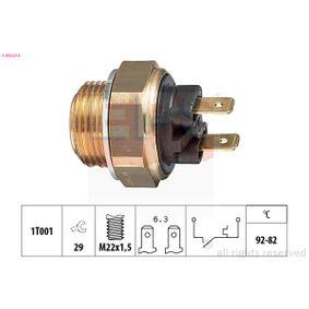 KW550016 EPS Made in Italy - OE Equivalent Temperaturschalter, Kühlerlüfter 1.850.016 günstig kaufen