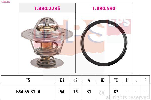 OE Original Kühler Thermostat 1.880.432 EPS