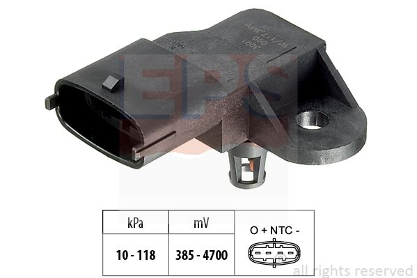 Sensor, Saugrohrdruck EPS 1.993.091