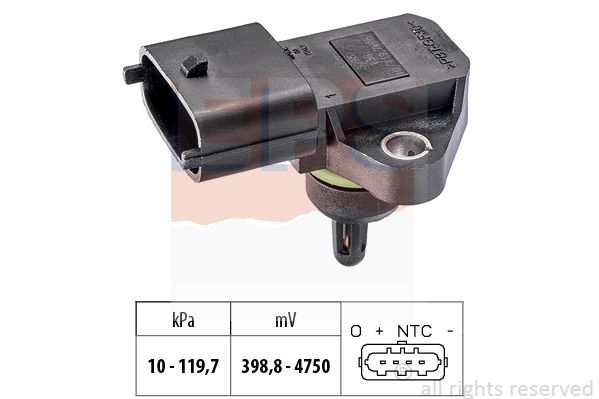 EPS Sensor, Ladedruck 1.993.098