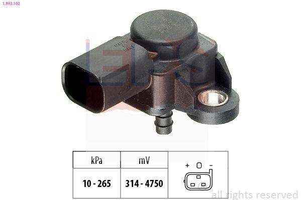 MERCEDES-BENZ E-Klasse 2019 Sensor, Saugrohrdruck - Original EPS 1.993.102