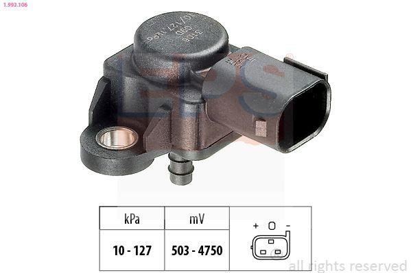 EPS Sensor, Ladedruck 1.993.106