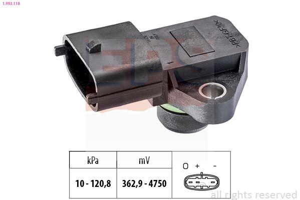 KW493118 EPS Made in Italy - OE Equivalent Luftdrucksensor, Höhenanpassung 1.993.118 günstig kaufen