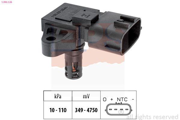 Sensor, Saugrohrdruck EPS 1.993.126